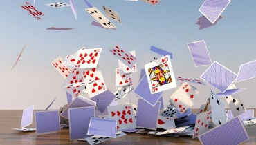 Cards Falling